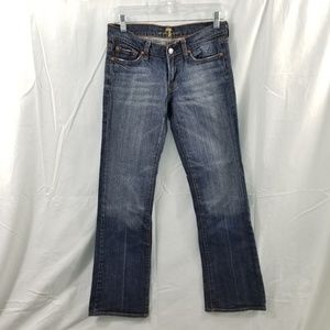7 For All Mankind Bootcut Size 28x32